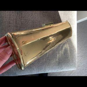 Gold Nine West purse